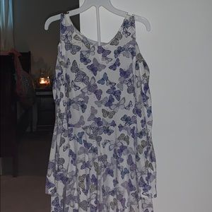 Children's place xl dress with butterflies